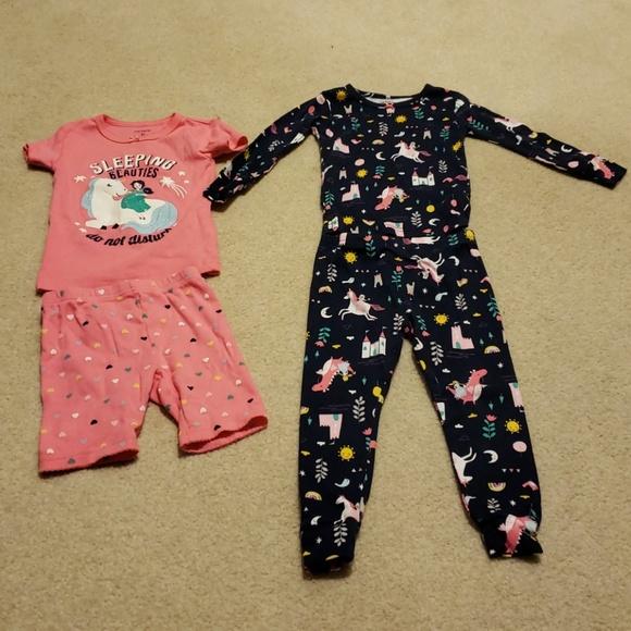 f78291f11 Carter's Pajamas | Carters Toddler Girl 2t 4pc Pj Set | Poshmark